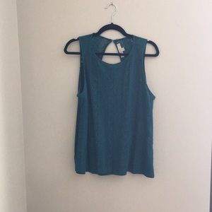 Loft Teal Blouse